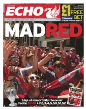 MAD RED - Liverpool Echo - Saturday 1st June